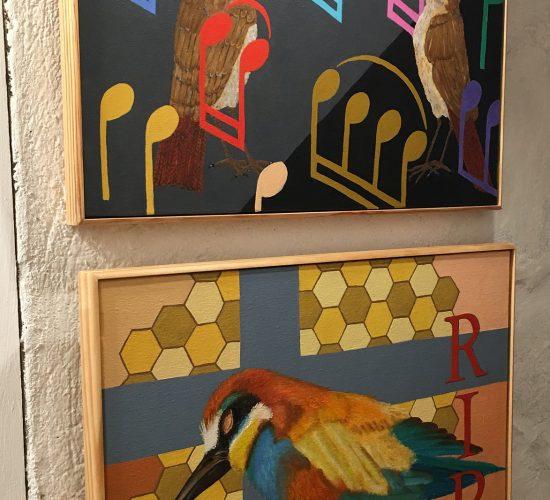 Geertje Briels - Pinturas, grabados y cerámica